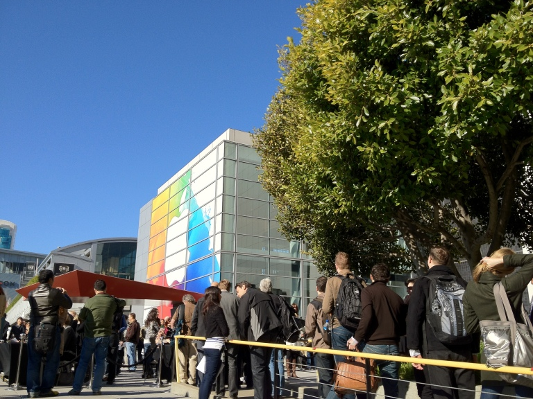 Apple's iPad 3 event in 2012. Photo by Blake Patterson via Creative Commons