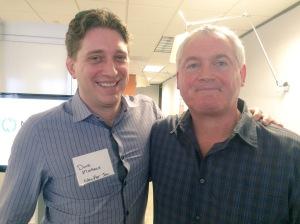 NewAer CEO Dave Mathews and Belkin CMO Kieran Hannon