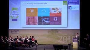 VMob presenting ICOM 2015-300